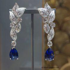 Graff Diamonds. Via Aneta Blaszczak (@blissfromparis) on Instagram: In love with this breathtaking beauty. #earrings by @Graff Diamonds