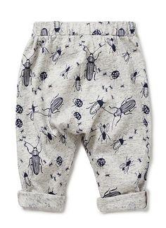 Baby Boys Pants & Shorts | Insect Harem Yardage Pants | Seed Heritage