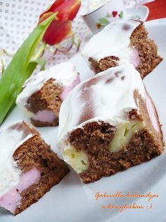 Hungarian Desserts, Hungarian Recipes, Croatian Recipes, Cooking Recipes, Healthy Recipes, Cake Cookies, Cake Pops, Sweet Recipes, Food And Drink