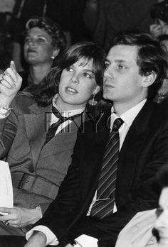 Princess Caroline and Stefano Casiraghi.