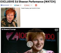 EXCLUSIVE Ed Sheeran Performance [WATCH]