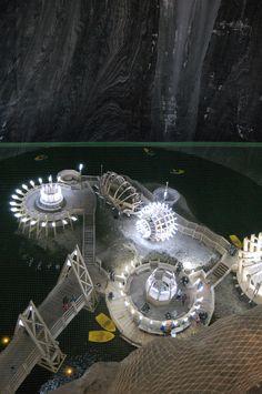Turda salt mine, Romania, www.romaniasfriends.com