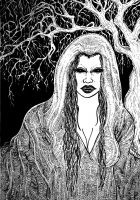 The Baobhan Sith, Scottish vampires who roam the countryside in packs, rending their victims limb from limb with taloned nails. Not just any victims though;only delicious young men will do as their diet of choice. Vampire Stories, Female Vampire, Legendary Creature, Sith, Mythical Creatures, Folklore, Mythology, Celtic, Fairy Tales
