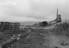 https://flic.kr/p/6E1WCe | February 1968, Khe Sanh | February 1968, Khe Sanh, South Vietnam --- Military trench at the end of the runway at Khe Sanh camp. --- Image by © Christian Simonpietri/Sygma/Corbis