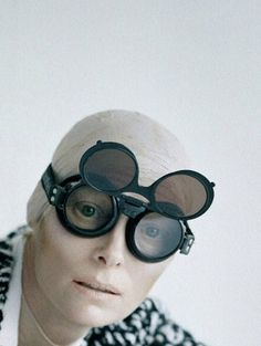 Tilda Swinton photographed by Tim Walker for W, August 2011
