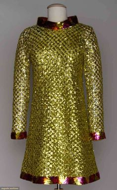 Pierre Cardin Party Dress, Late 1960s-early 1970s, Augusta Auctions, November 13, 2013 - NYC, Lot 222