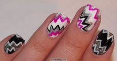 Very Pretty Graffiti Art For Your Nails - Reny styles