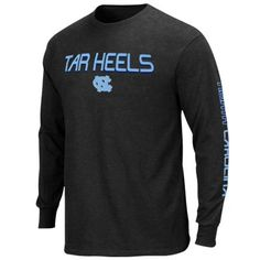huge selection of 1be33 588c2 Majestic North Carolina Tar Heels (UNC) Classic Victory Long Sleeve T-Shirt  - Charcoal