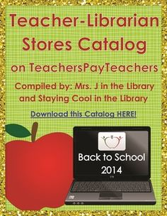 FREE Back-to-School 2014 Teacher-Librarian Stores eBook Catalog - Features 16 TpT stores that sell school library, teacher-librarian, and library media center products. Every store offers at least 1 free product!