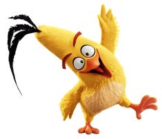 The Angry Birds Movie Chuck Transparent PNG Image