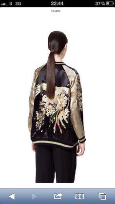 Zara silk jacket