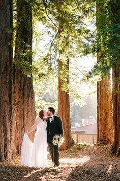Derek and Emily's Intimate, Fun, and Relaxed The Mountain Terrace Wedding in Woodside, California // SimoneAnne.com
