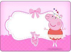 Marmita Peppa Pig Bailarina: