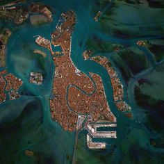 Venice, Italy is situated upon 118 small islands that are separated by canals and linked by bridges. With tide waters expected to rise to perilous levels in the coming decades, the city has constructed 78 giant steel gates across the three inlets through which water from the Adriatic could surge into Venice's lagoon. The panels – which weigh 300-tons and are 92ft wide and 65ft high - are fixed to massive concrete bases dug into the seabed.