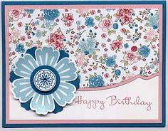 Mixed Bunch Birthday by Julie Bug - Cards and Paper Crafts at Splitcoaststampers