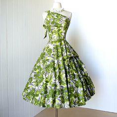 vintage 1950's dress ...spectacular MURIEL ORIGINALS by traven7