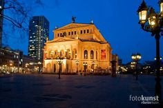 Old Opera house in my home town Frankfurt Germany