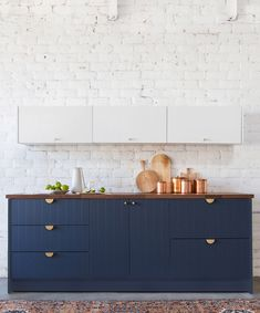 Similar to reform, Semihandmade offers kitchen, bathroom and cabinet fronts. The fronts are fairly basic in terms of design but are sturdy and top quality, so it's more about creating better quality version of the pieces you have than it is about re-designing them.