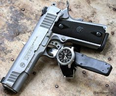 Manufacturer: Taurus Mod. PT 1911 Type - Tipo: Pistol Caliber - Calibre: 45 ACP Capacity - Capacidade: 8 Rounds Barrel length - Comp.Cano: 5 Weight - Peso: 1077...