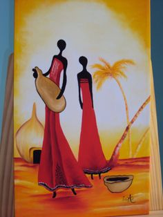 Africana  quadros maravilhosos