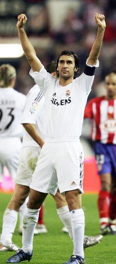 Raul Gonzales Blanco, Spanish professional footballer, b. 1977