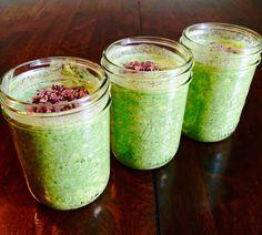 Super green overnight oats