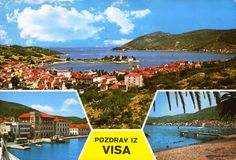 VIS - Vis island, Republic of Croatia - postcard from 1980′s