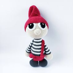 NISSERNE ARTHUR & ALVA – Unkeldesign Christmas And New Year, Diy And Crafts, Crochet Patterns, Crochet Hats, Teddy Bear, Inspiration, Toys, Free Pattern, Crocheting