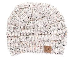 H-6033-67 Confetti Knit Beanie - Oatmeal * Details can be found by clicking on the image.