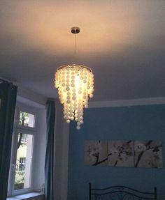 #DIY Lamp made of ping pong balls
