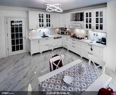 Tasarım ve uygulamasını yaptığımız bir mutfak. Tüm mutfak modelleri için lütfen sayfamızı ziyaret ediniz. #mutfak #kitchen