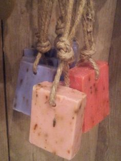 Check out this item in my Etsy shop https://www.etsy.com/listing/240987577/soap-on-a-rope