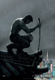 The Wolverine - Promotional art with Hugh Jackman