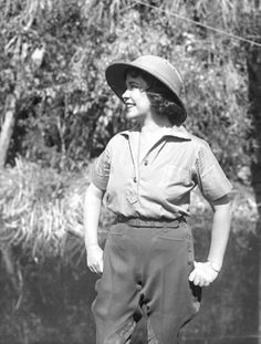 Today's Historical Badass is: Osa Johnson   Narutalist, Adventurer, Photographer, and Filmmaker, Osa and her husband Martin spent the early 20th century studying the wildlife and people of East and Central Africa, the South Pacific   Islands and British North Borneo
