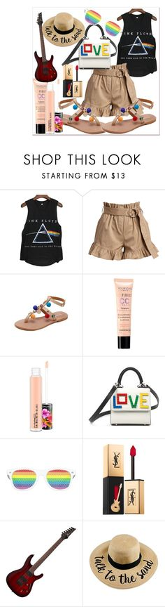 """""""take me to the sand for a beach concert"""" by darcylee on Polyvore featuring Cinq à Sept, Bourjois, MAC Cosmetics, Les Petits Joueurs and Yves Saint Laurent"""