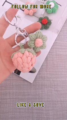 Crochet Magic Circle, Crochet Circle Pattern, Crochet Keychain Pattern, Crochet Circles, Crochet Flower Patterns, Crochet Motif, Crochet Designs, Knitting Patterns, Crocheted Flowers
