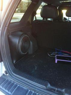Custom Front Seat Side Window Sunshade for 2013-2017 Subaru XV Crosstrek