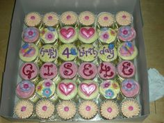 Birthday+Cupcakes+for+Girls | sinfully yours: Birthday Cupcake-Cake for Pretty Girls!