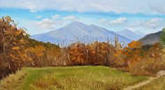 Early November at First Bridge by Sharon Allen Oil ~ 6 x 12
