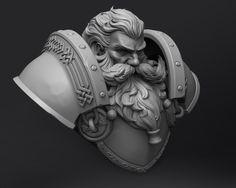 Zbrush Character, Character Sketches, Character Modeling, Character Art, Character Design, Beard Sculpting, Shadow Box Art, Digital Sculpting, 3d Figures