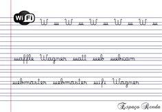 caligrafia W