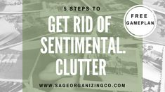 As Americans continue to live in larger and larger homes, we find ourselves able to store a huge amount of sentimental clutter...and we do not get rid of it. Ever. As an Estate Clearing Professional and Professional Organizer, I see entire rooms, closet