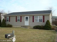 Very well cared for 3 Bedroom Rancher.  Large rear Deck for entertaining.  Storage Shed.  Kitchen Appliances, Washer/Dryer and Pellet Stove Convey.  Ready to make a Home!    Why Rent?   (Possible Payment of $715.00- taxes/ins incl.  @4% usda)
