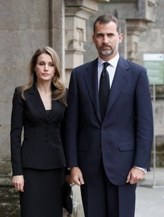 Princess Letizia - The First Of The Funerals Are Held For Victims Of The Spanish Train Crash