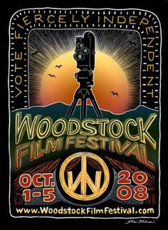 2008: Woodstock Film Festival Art by: Karen Whitman  http://www.bearsvillegraphics.com/