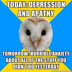 Is Depression A Chronic Illness Living With Bipolar Disorder, Panic Disorder, Anxiety Disorder, Mental Disorders, Mental Health Memes, Mental Health Awareness, Bipolar Awareness, Mental Illness, Chronic Illness
