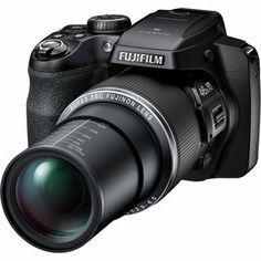 Fujifilm FinePix S8500 Bridge 16.2MP Black Digital Camera 16GB Bundle   Overstock.com