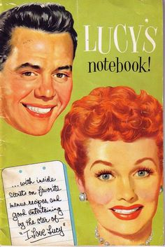 I Love Lucy notebook.