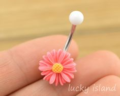 belly+button+jewelrylittle+daisy+belly+button+rings+by+luckyisland,+$4.99