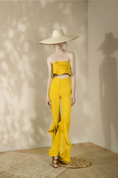 Andrés Otálora Resort 2019 - Discover the Collection Here! Fashion 2020, Baby Dress, Vintage Dresses, Summer Outfits, Jumpsuit, Denim, Chic, Womens Fashion, Casual